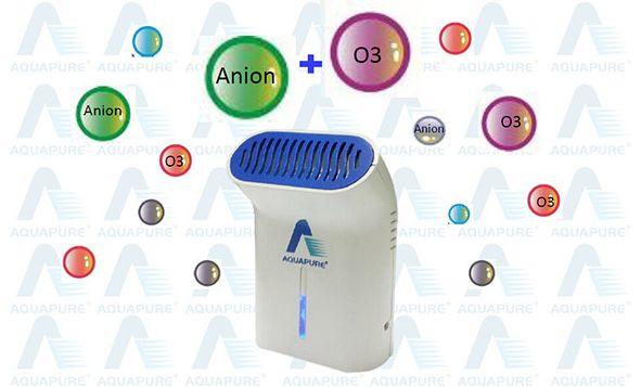 Čistička vzduchu se zabudovaným ionizátorem a ozonizátorem AQUAPURE D03 s napájením do auta