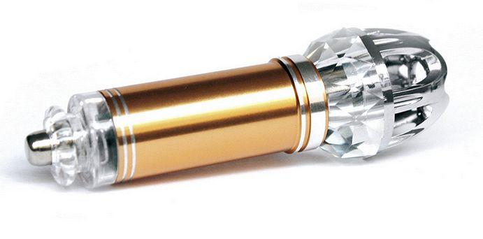 Ionizátor a čistička vzduchu do auta ION JO-6281 - DÁRKOVÉ BALENÍ - zlatá