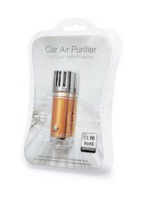 Ionizátor a čistička vzduchu do auta ION JO-6276 s ozonizátorem - zlatá