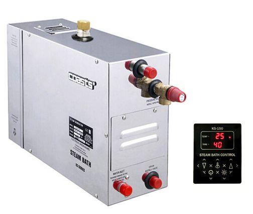 Parní generátor, vyvíječ páry pro sauny KSA-75 s ovládacím panelem KS-150, 380V