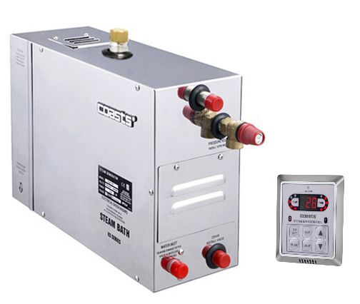 Parní generátor, vyvíječ páry pro saunu KSA-180 s ovládacím panelem KS-200A, 380V