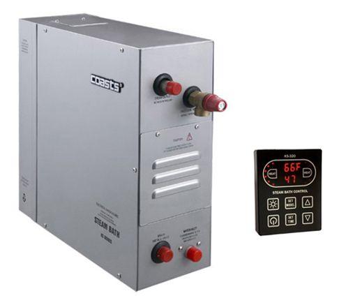Parní generátor, vyvíječ páry pro saunu KSB-105D s ovládacím panelem KS-320A, 380V