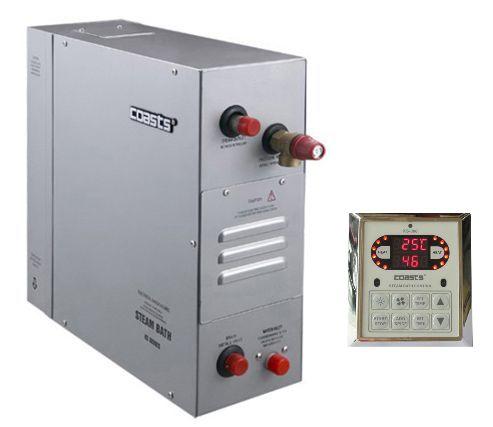Parní generátor, vyvíječ páry pro saunu KSB-240D s ovládacím panelem KS-300, 380V