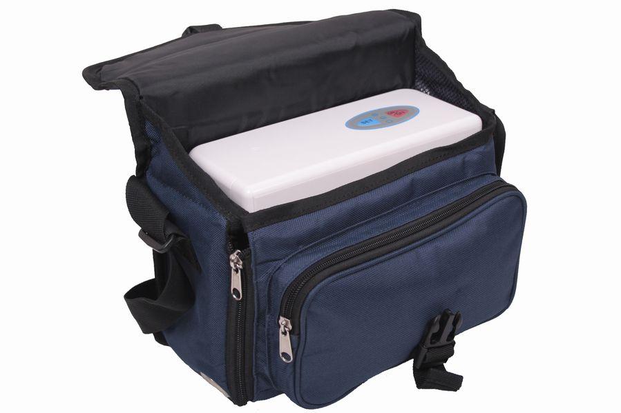 Přenosný kyslíkový koncentrátor s baterií OX ONE EGET 3L, 23% s druhou, náhradní baterií