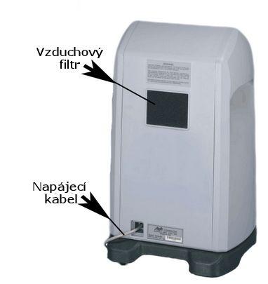 Kyslíkový koncentrátor, dýchací přístroj AIRSEP NEWLIFE INTENSITY 10L - 1 výstup
