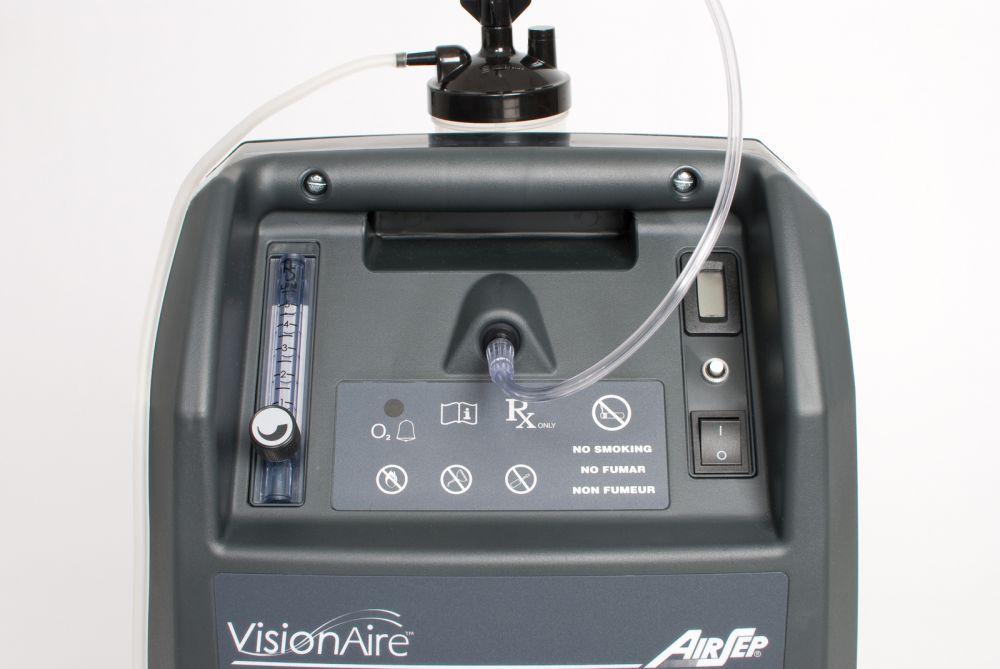 Kyslíkový koncentrátor, dýchací přístroj AIRSEP VISONAIRE 5L