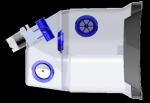 Kyslíková maska pro koně MPTS 360 bez ultrasonického nebulizéru