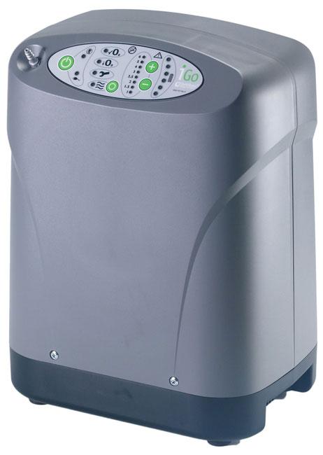 Kyslíkový koncentrátor, dýchací přístroj DeVilbiss iGO 3L, 91 %