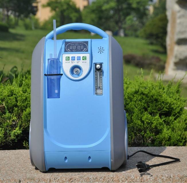 Přenosný kyslíkový koncentrátor s baterií LOVEGO GBA 101 5L, 90%