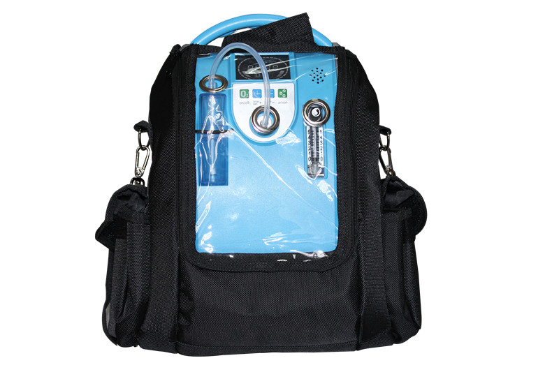 Přenosný kyslíkový koncentrátor s dvěma bateriemi a vozíkem OX ONE GBA 101 5L, 90%