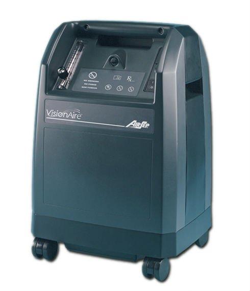 Kyslíkový koncentrátor, dýchací přístroj AIRSEP VISONAIRE 5L, 90 %